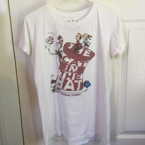 Universal Studios Cat in the Hat T-shirt Sz XL